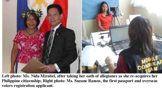 PHL EMBASSY CONDUCTS 8<sup>TH</sup> MOBILE CONSULAR SERVICES